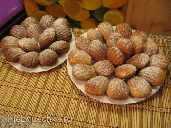 Печенье Мадлен-Madeleine медовое Печенница «Мадлен» Princess 132404 или духовка