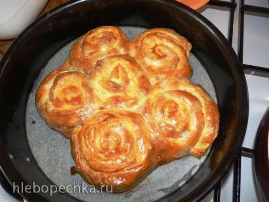 Пита классическая по сербски в скороварке, мультиварке и духовке