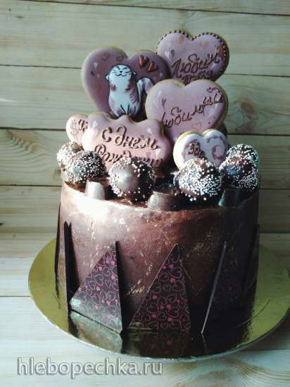 Торт Сникерс от Алины Ахмадиевой