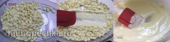 Карамелизация белого шоколада от Дэвида Лебовича