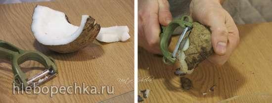 Японский кокосовый пирог (Japanese Style Coconut Pie)