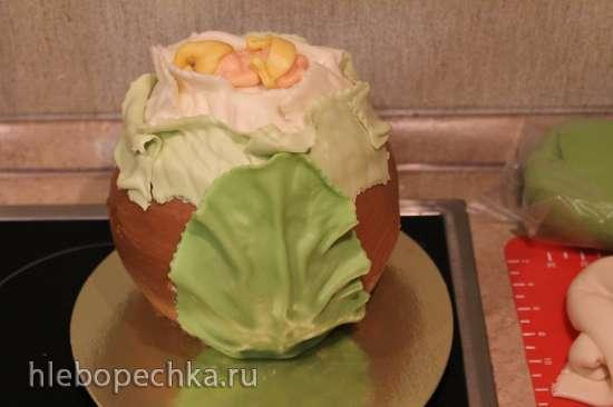 Торт Капуста (мастер-класс)
