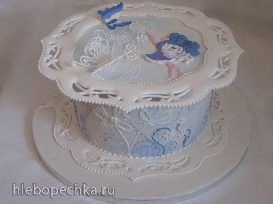 Торты с декором из айсинга