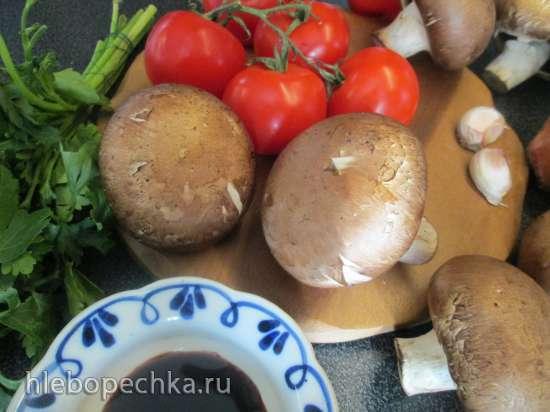 Буюрди с грибами
