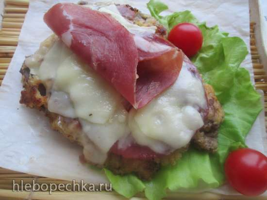 Телячья котлета под сырной корочкой или cotoletta alla bolognese