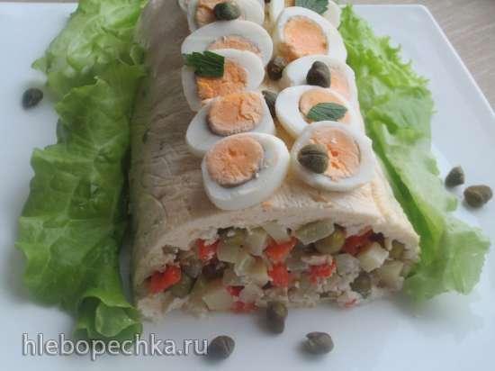 Русский салат «Оливье»