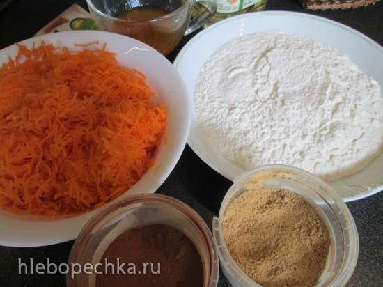 Рождественский кекс с морковью