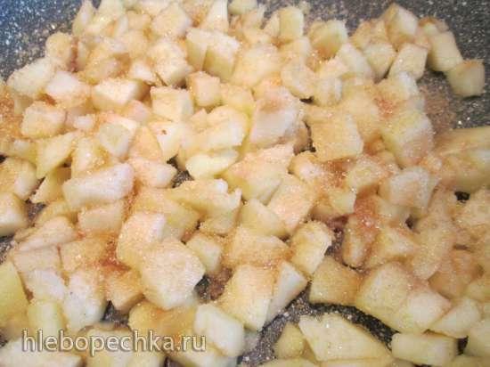 Пряные яблочные блонди