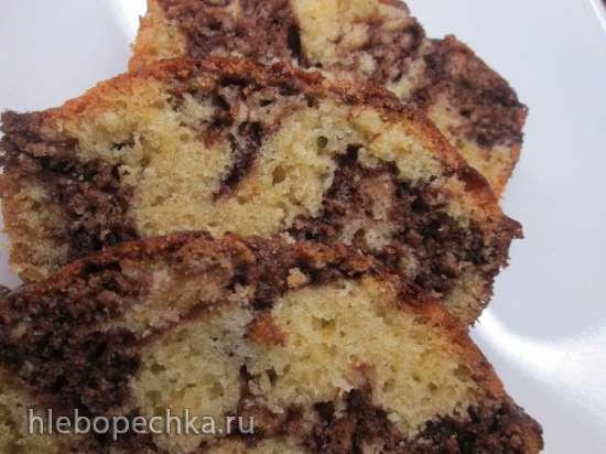 Венецианский мраморный пирог