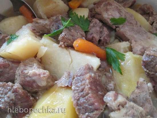 Бекеоффе (Baeckeoffe) - тушеное мясо по-эльзасски