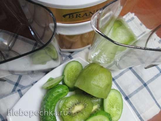 Огуречный сок с киви