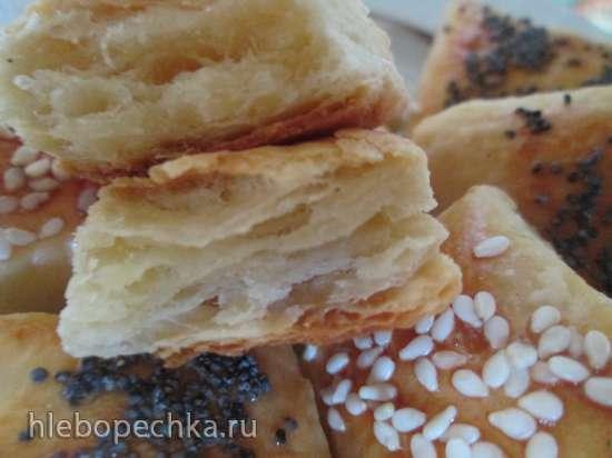 Немецкое печенье из сметанного теста