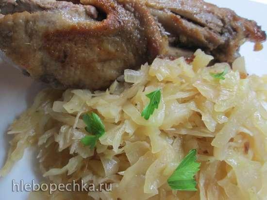 Утка по-немецки с капустой Sauerkraut