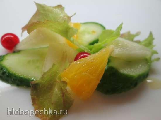 Питьевой салат дынно-огуречный