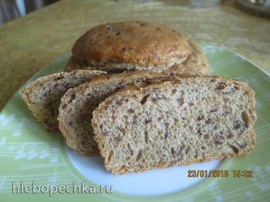 Хлеб с семечками по мотивам Р. Бертине на опаре