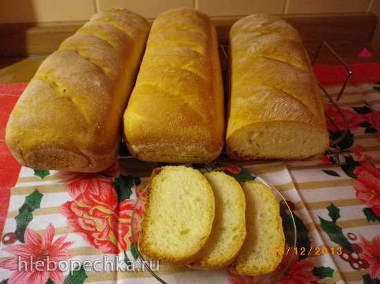 Хлеб горчичный ситный по ГОСТу в духовке