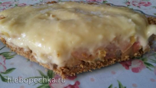 Баноффи пай (постный)