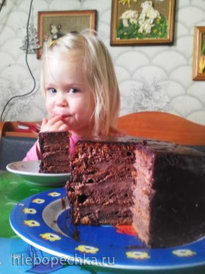 Торт «Прага» (по ГОСТу) в мультиварке Panasonic