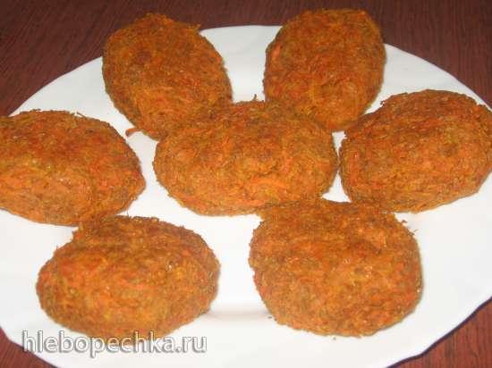 Овощные котлетки - 3 варианта (духовка)
