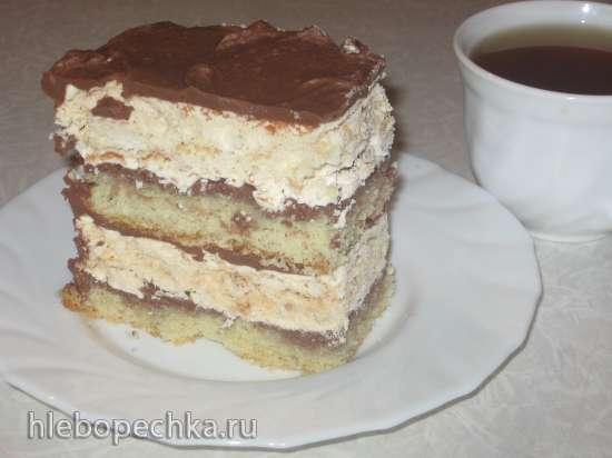 Крем шоколадный (заварной на сгущенном молоке)