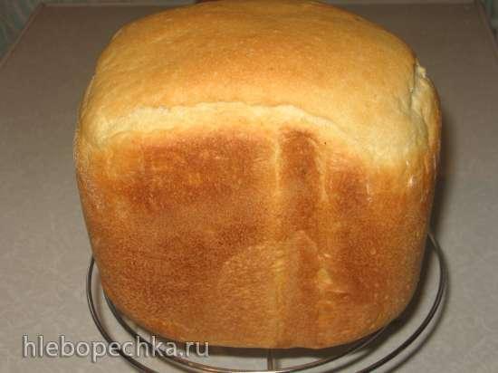 Пшеничный хлеб на двух опарах в хлебопечке