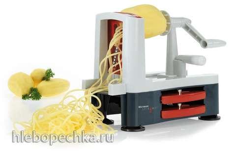 Фруктово-овощной салат «Спагетти»