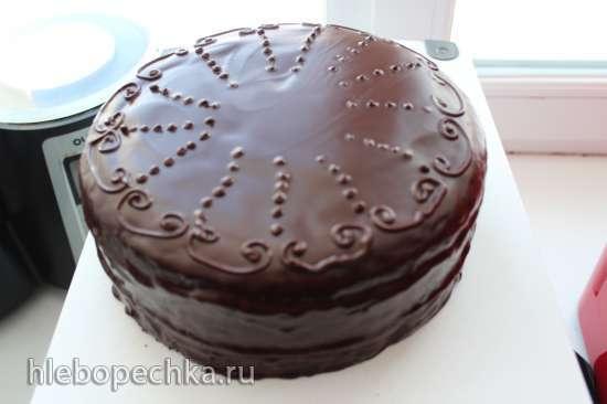 Торт Захер (вариант Sachertorte)