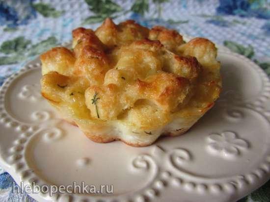Сырные сочные мини-пироги