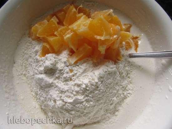 Кексы с апельсином и мёдом