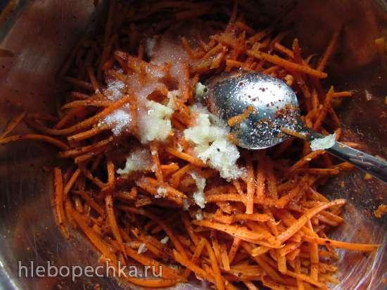 """Корейская морковь """"По-нашему"""""""