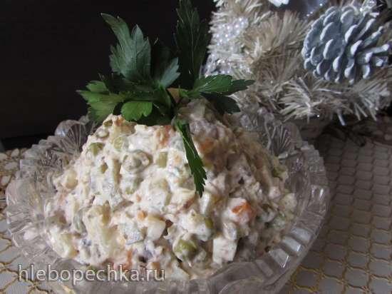 """Наш семейный салат """"Оливье с тунцом"""""""