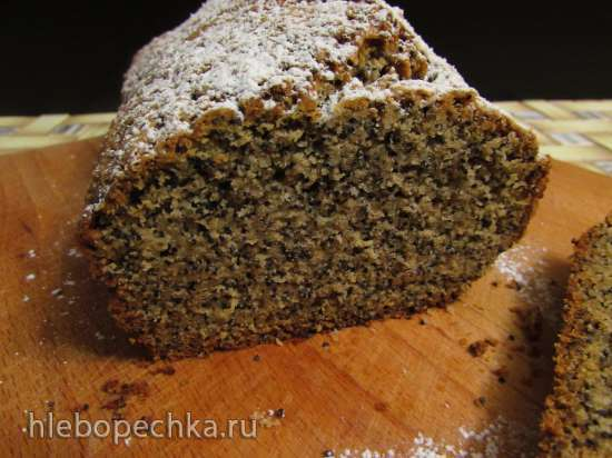 Маково-пряный кекс