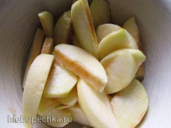 """Пирог """"Яблочные дольки"""""""