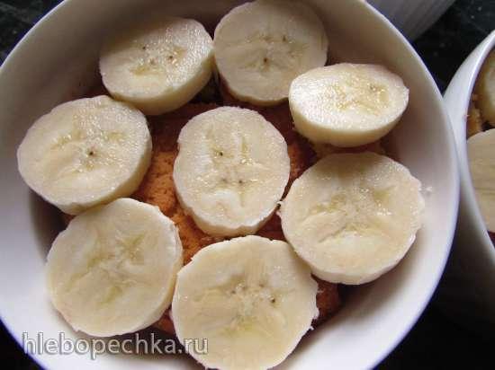 Бананово-пудинговый десерт