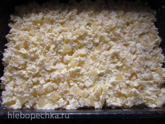 Пирог «Ананасово-кокосовый»