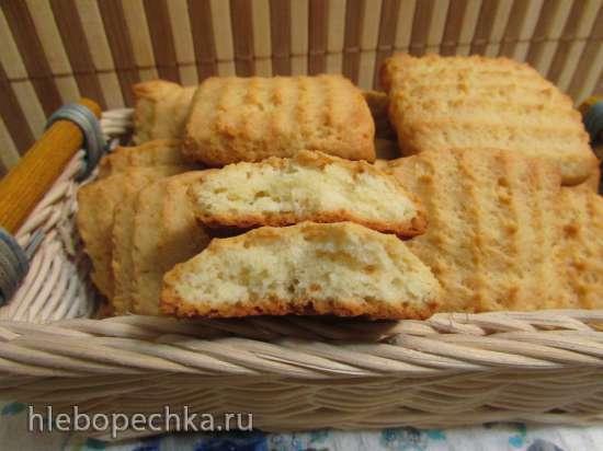 """Печенье """"Сливочно-ванильное""""(пресс-шприц для теста)"""