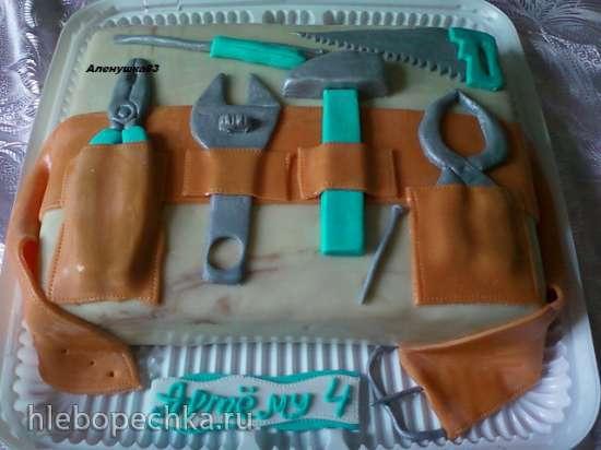 Стройка. Инструменты (торты)