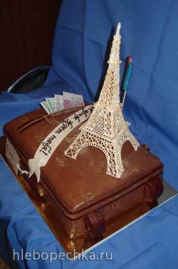 Торты, украшенные мастикой и марципаном (4)