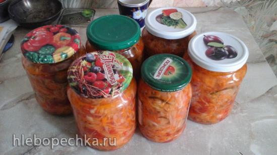 Солянка овощная советско-застойная