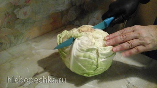 Как правильно разрезать капусту
