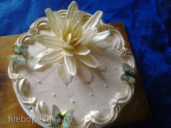 Шоколадный цветок