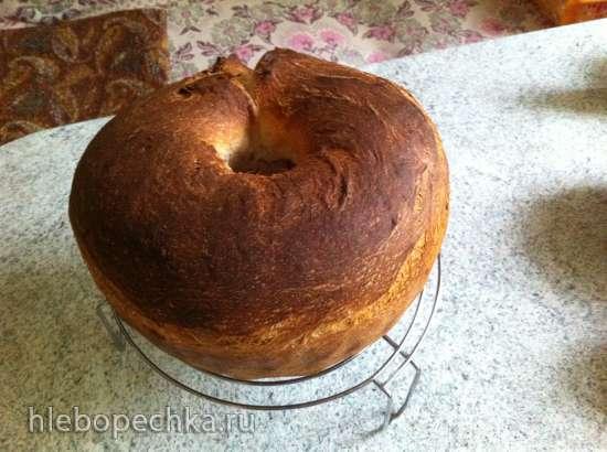 Пирог-рулет с маком на закваске