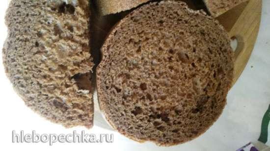 Gorenje BM1400E. Пшенично-ржаной хлеб на квасном сусле