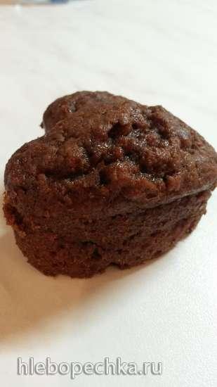 Творожно-шоколадный кекс (скороварка Brand 6050)