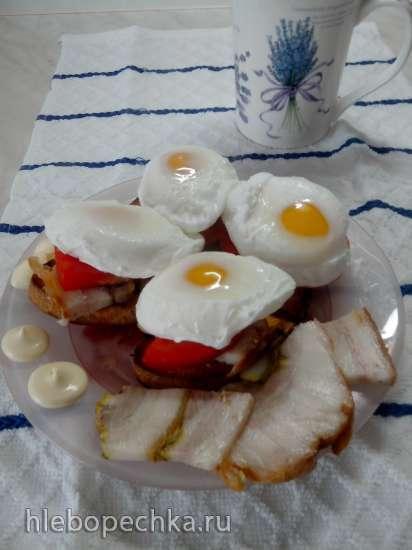 Яйцо Бенедикт (завтрак пейзанки)