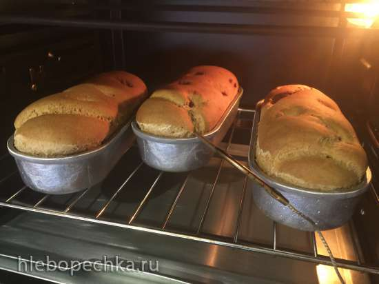 Хлеб Аля-Рижский на закваске Seitenbacher