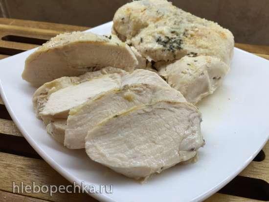 Куриная грудка SousVide c Пармезаном по Онегину (Steba SV2)