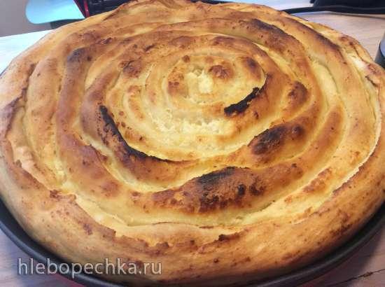 Пита сербская классическая в пиццамейкере Princess