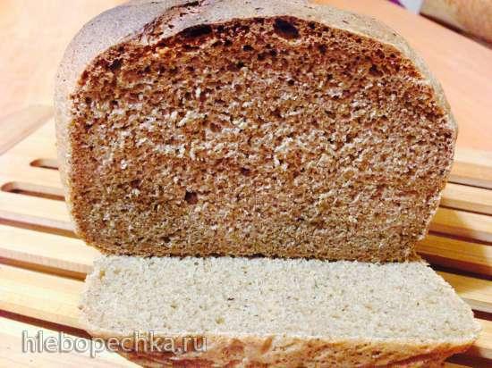 Хлеб черный Просто и вкусно