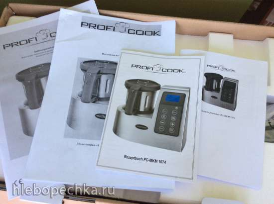 Кухонная машина ProfiCook MKM-1074